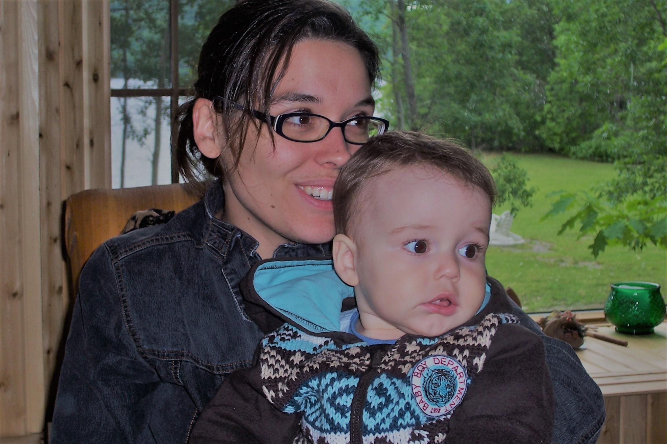Jeune maman,Cindy Bégin de Temiscom