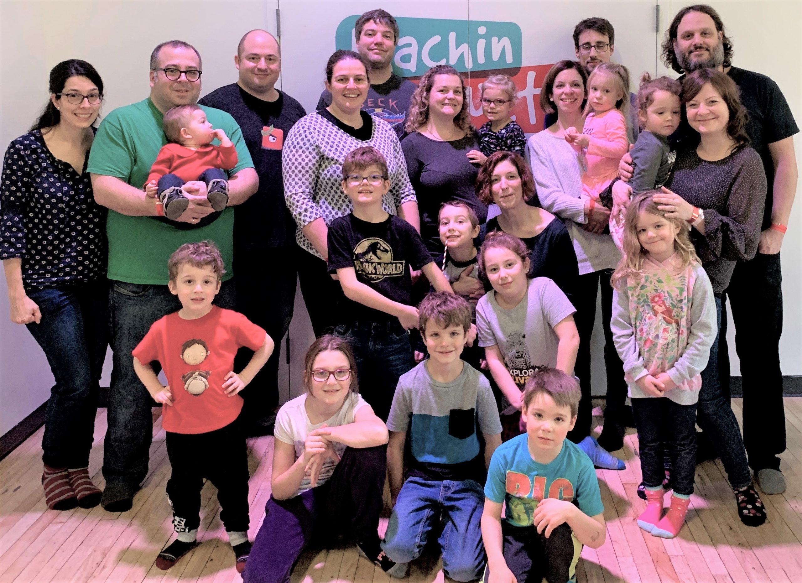 Party de Noël de 2018 des enfants chez Triple Boris