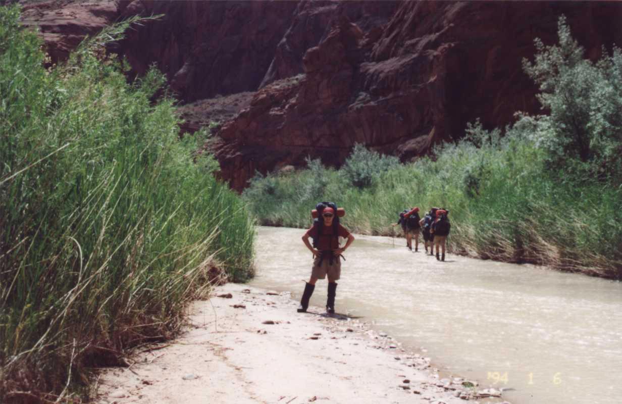 Un voyage au Grand Canyon organisé par Simon alors qu'il était au Cégep.